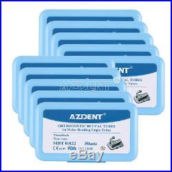 10 Box Dental Monoblock Single MBT 0.022 Buccal Tube Non-Conv 1st Molar Bondable