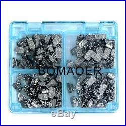10 boxes Dental orthodontic 1st molar buccal tube monoblock roth 018 50 sets