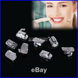 10 packs Dental Roth 022 Orthodontic Monoblock Cast Buccal Tube Bondable NEW