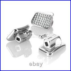 1000pc Dental Ortho Buccal Tube 2st Molar ROTH0.022 Bondable Monoblock Non-Conv