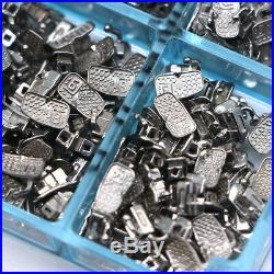 1000pcs Dental 1st Molar Single Buccal Tubes Non-conv Monoblock Bonding Roth 022