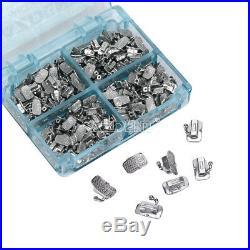 1050Set Dental Monoblock Buccal Tube 1st Molar Roth 022 Bondable Non-Conv U1L1