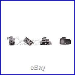 10Box Orthodontic Metal Buccal Tube Bondable Monoblock 1st Molar Roth 022 N-Conv