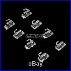 10Pack 1st Molar Bondable Monoblock Non-Convertible Single Roth0.022 Buccal Tube