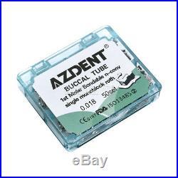 10X Dental 1st Molar Roth. 018 Bondable Buccal Tubes Monoblock Inblock AZ