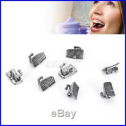 10X Dental Ortho Monoblock 1st Molar Single Buccal Tube N-Convertible Roth 0.022