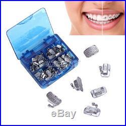 10X Dental Orthodonic 1st Molar Monoblock Buccal Tube Non-Convertible Roth 0.022