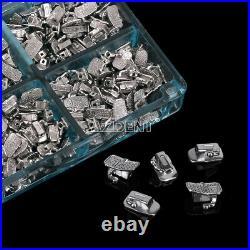 10X Dental Orthotic Monoblock 1st Molar 022 Buccal Tubes U1L1 Bondable Non-Conv