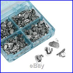 10x Bondable 2nd Molar Roth 0.022 Buccal Tubes Monoblock 50Set/box