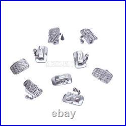 10x Dental Orthodontics Buccal Tube Monoblock Roth. 022 1st Molar Bondable N-conv