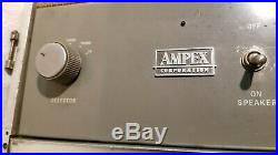1960 Ampex A692 Vintage Suitcase Tube Amplifier MONO BLOCK For Tape Recorder