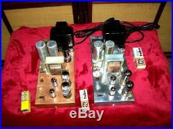 2 Vintage Westinghouse Tube Mono Blocks Power Amps Ch. V 2235
