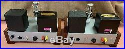 2 custom mono block Single-ended 300B tube amplifiers Sophia output Transformers