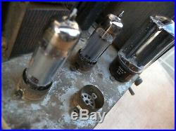 2 mono block power amp. Matched pair tube 6973. Untested. U. S. A