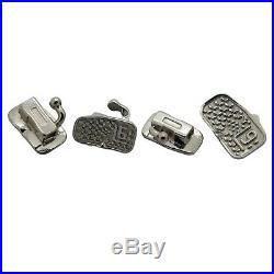 200PCS Dental Orthodontic Buccal Tubes Roth MBT 1st 2nd Molar Slot 022 Monoblock