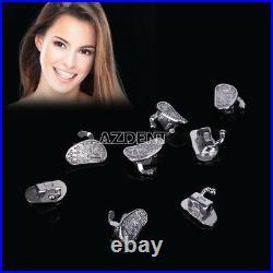 20X Dental Orthodontic Monoblock Buccal Tubes Roth 022 2nd Molar Bonable N-Conv