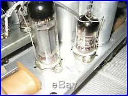 2X Russian mono block tube amp EL84(6p14p) ECC83(6n2p)
