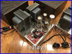 2x Dynaco Mark III Monoblock tube amplifier upgraded Poseidon, SDS board