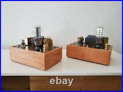 300B Single End Tube Mono Block Amplifiers Hand made Great Sound