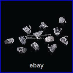 3x Dental Ortho Buccal Tube 2nd Molar Roth. 022 Bondable Non-Conv Monoblock