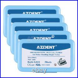 50Set /20Set Dental Ortho Buccal Tube 1st Molar Bondable Non-Conv Roth /MBT 022