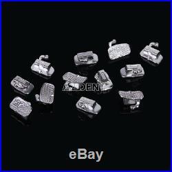 5X(250Sets) Dental Bondable 1st Molar Roth 0.022 Monoblock Buccal Tubes