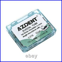 5X Dental Bondable1st Molar Roth. 018 Buccal Tubes Monoblock Inblock 250 SETS AZ