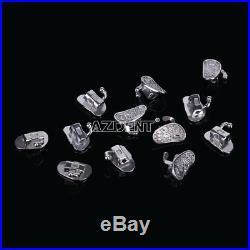 5X Dental Orthodontic Monoblock 2nd Molar Roth 0.022 Non-Convertible Buccal Tube