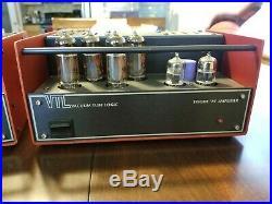 90's VTL TT25 Tiny Triode 25 Monoblock Mono Block Tube Amps amplifiers Red RARE