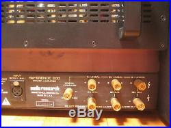 A Pair (2) Of Audio Research Reference 600 Monoblock Vacuum Tube Power Amplifier