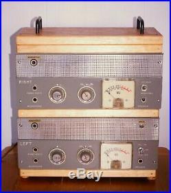 AKAI M6 dual monoblock stereo single ended tube amp, plug and play