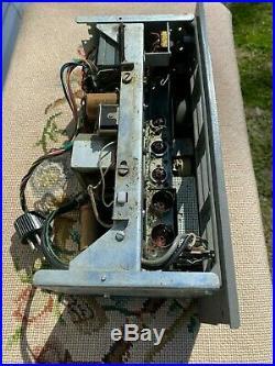 AKAI M7 Mono block Amp Vintage Tube Amplifier, Works needs tubes, 1 of 2, LEFT