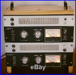 AKAI M8 dual monoblock stereo single ended tube amp, plug and play