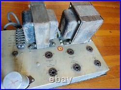 ALTEC 1569A Monoblock Tube Power Amplifier based on 4 x EL34 Tubes