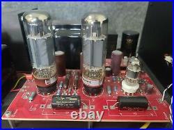 ANK Audio EL34 monoblock amplifiers with genalex gold lion tubes