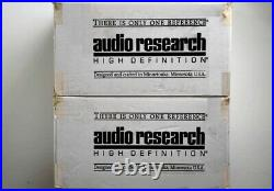 AUDIO RESEARCH VTM 200 Tube Monoblock Power Amps