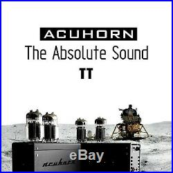 Acuhorn TT Stereo Monoblock One Tube Amplifier 6C33C High End SE Triode Class A