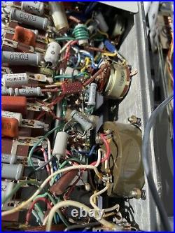 Akai M8 Reel to Reel Mono Block Tube Pre Amp & Amp Right & Left Side WORKING