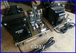 All New Pair Dynaco Mark III Monoblock Tube Amplifier Audiophile KT88 + Mullard