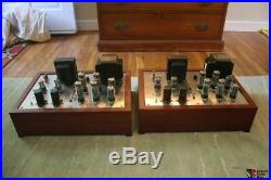 Altec 1569 mono block tube amplifiers