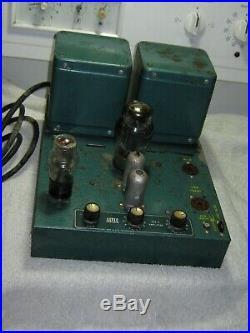 Altec 350A mono block tube amplifier