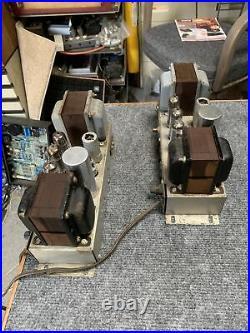 Ampex 6973 Monoblock Tube Amplifiers