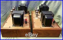 Ampex 6973 Monoblock Tube Amplifiers Triad Transformers Last Chance