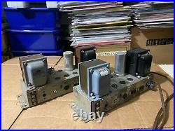 Ampex 6973 Monoblock Tube Amplifiers (pick up only)