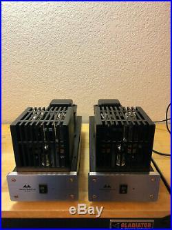 Antique Sound Lab Wave-25 Mono Block Tube Amplifiers