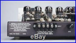 Audio Research M-100 Vacuum Tube Monoblock Amplifiers Vintage 6550 Audiophile
