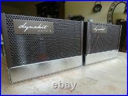 Audiophile Quality Dynaco Mark III Monoblock Tube Amplifier Pair KT88 + Mullard