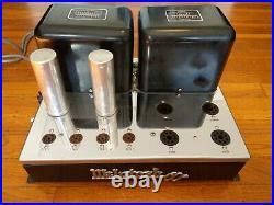 Beautiful McIntosh MC60 Monoblock Tube Power Amplifier based on KT-88 Tubes