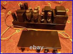 Blueprinted Custom Guitar/Hi-Fi Monoblock Baldwin Tube Amplifier & Dynaco Pre