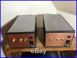 Brocksieper Trimax B Tube Monoblock Amplifiers Amp